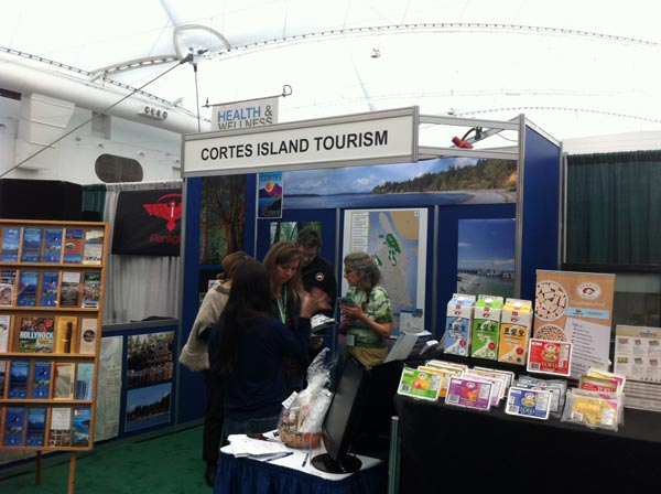 Booth at Vancouver Outdoor Travel & Trade Show a Splendid Success