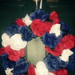 DOLLAR TREE 4TH OF JULY WREATH