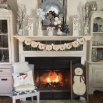 SIMPLE IDEAS FOR A FUN WINTER SNOWMAN MANTEL