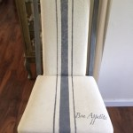 JUNE FURNITURE REFRESH-PAINTED FABRIC DINING CHAIRS