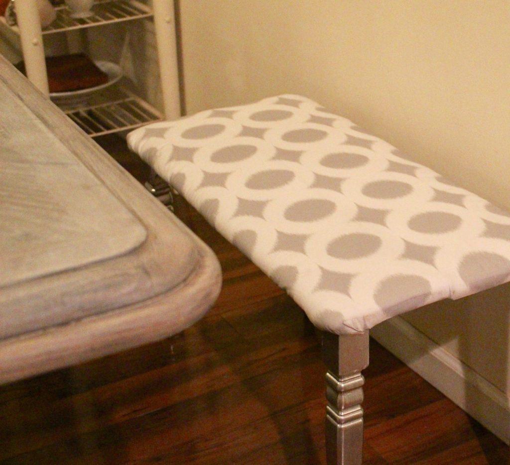 DIY MODERN FLAIR DINING ROOM BENCH OUR CRAFTY MOM