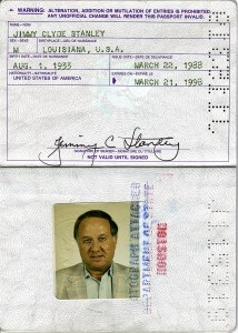 Jim Stanley's Passport