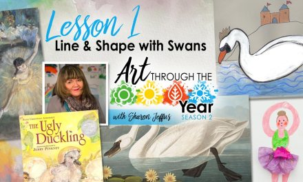 Line and Shape with Swans (Art Through the Year Season 2 Episode 1)