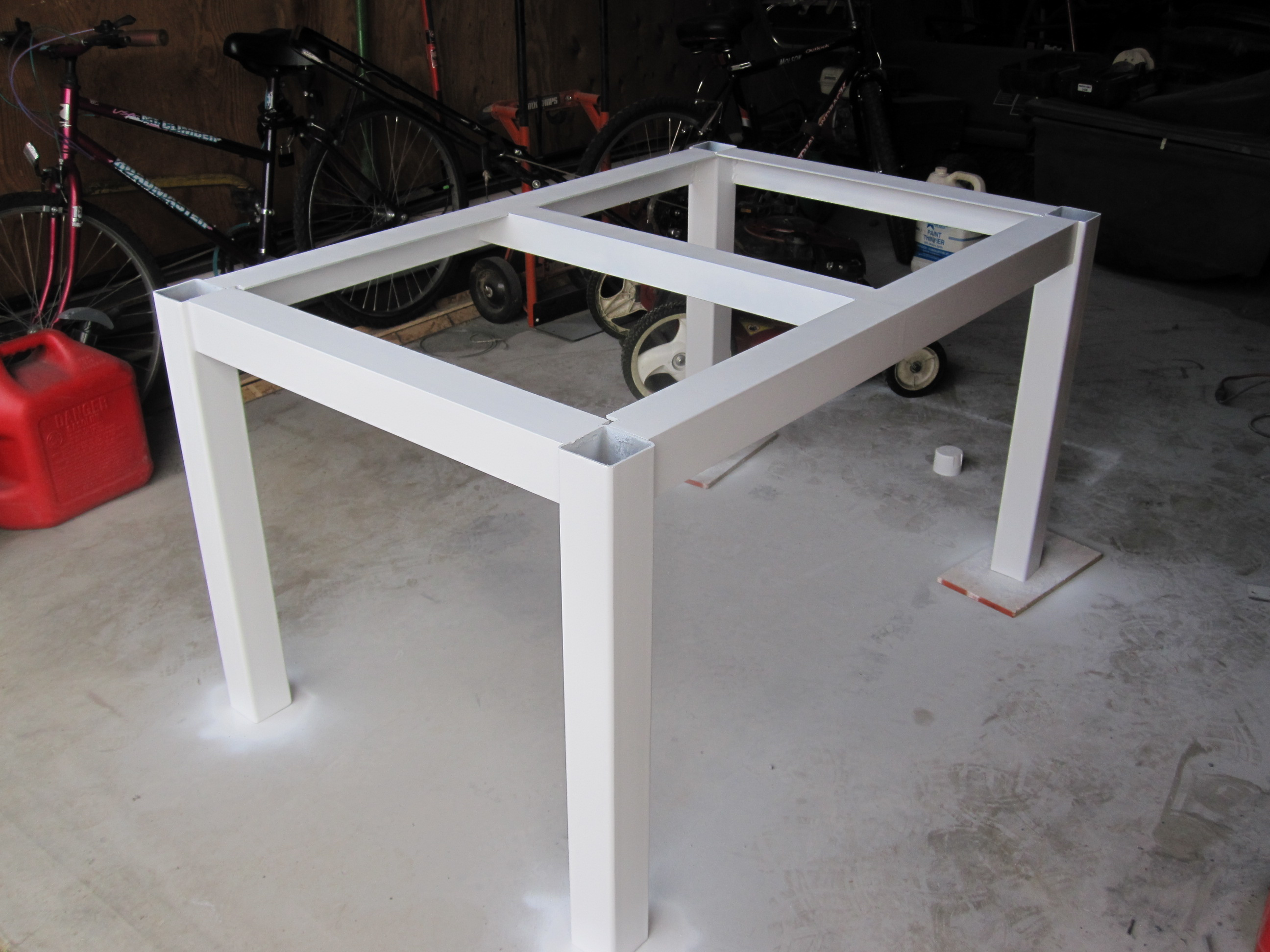 adventures in building a dining table make kitchen table Because