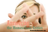 Answering Homeschool Critics: Am I Qualified?