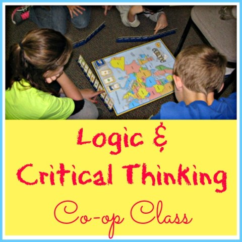 Critical thinking classes in schools