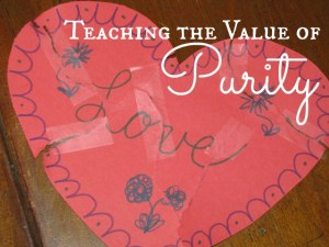 Teaching the Value of Purity – Day 9