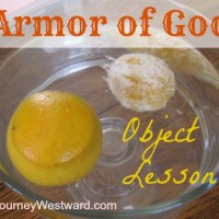 Armor of God Object Lesson