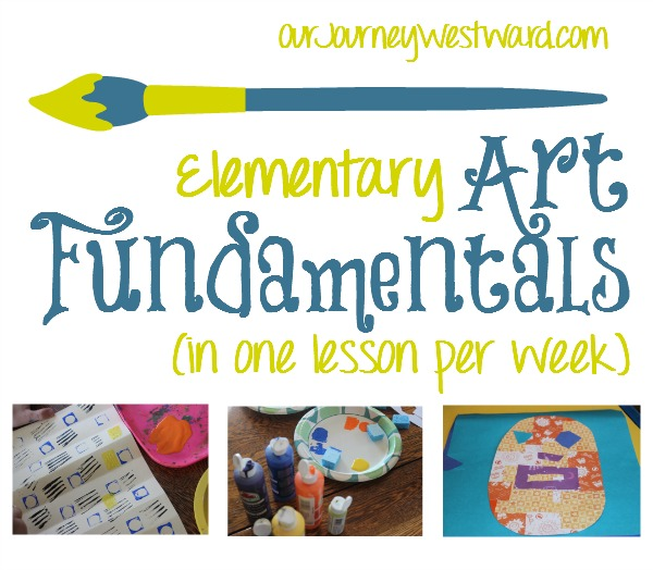 My 2nd grader and I are loving this plan for once a week art instruction that teaches fundamentals and gives plenty of practice with various media and techniques.
