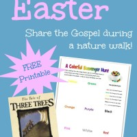 The Tale of Three Trees: Nature Walk (Free Printable)