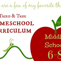 Homeschool Curriculum Top 10: Middle School