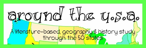 Around the USA Study using living literature to highlight important events, people and facts
