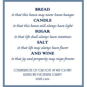 Fulgurant Image Image Housewarming Gift Basket A New Tradition Our Painted Nest Housewarming Gifts India Housewarming Gifts Bread Salt Poem
