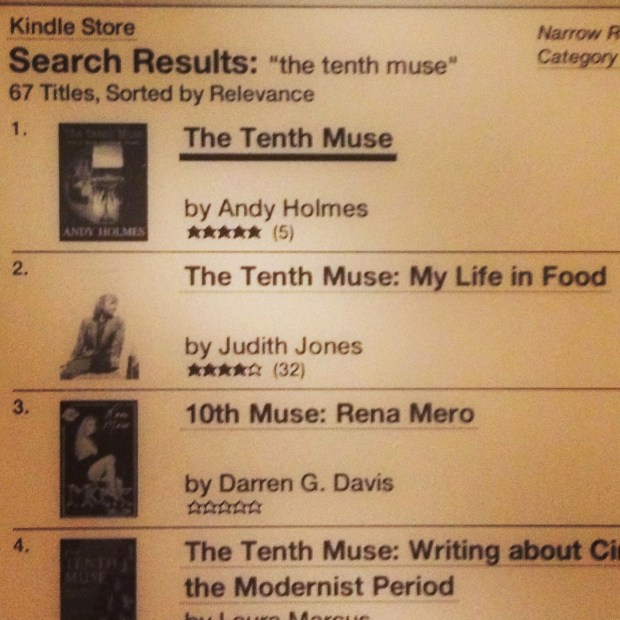 The Tenth Muse - Andy Holmes