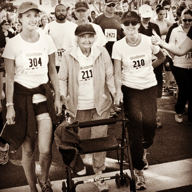 barbara maloy 91 year old 5k racer