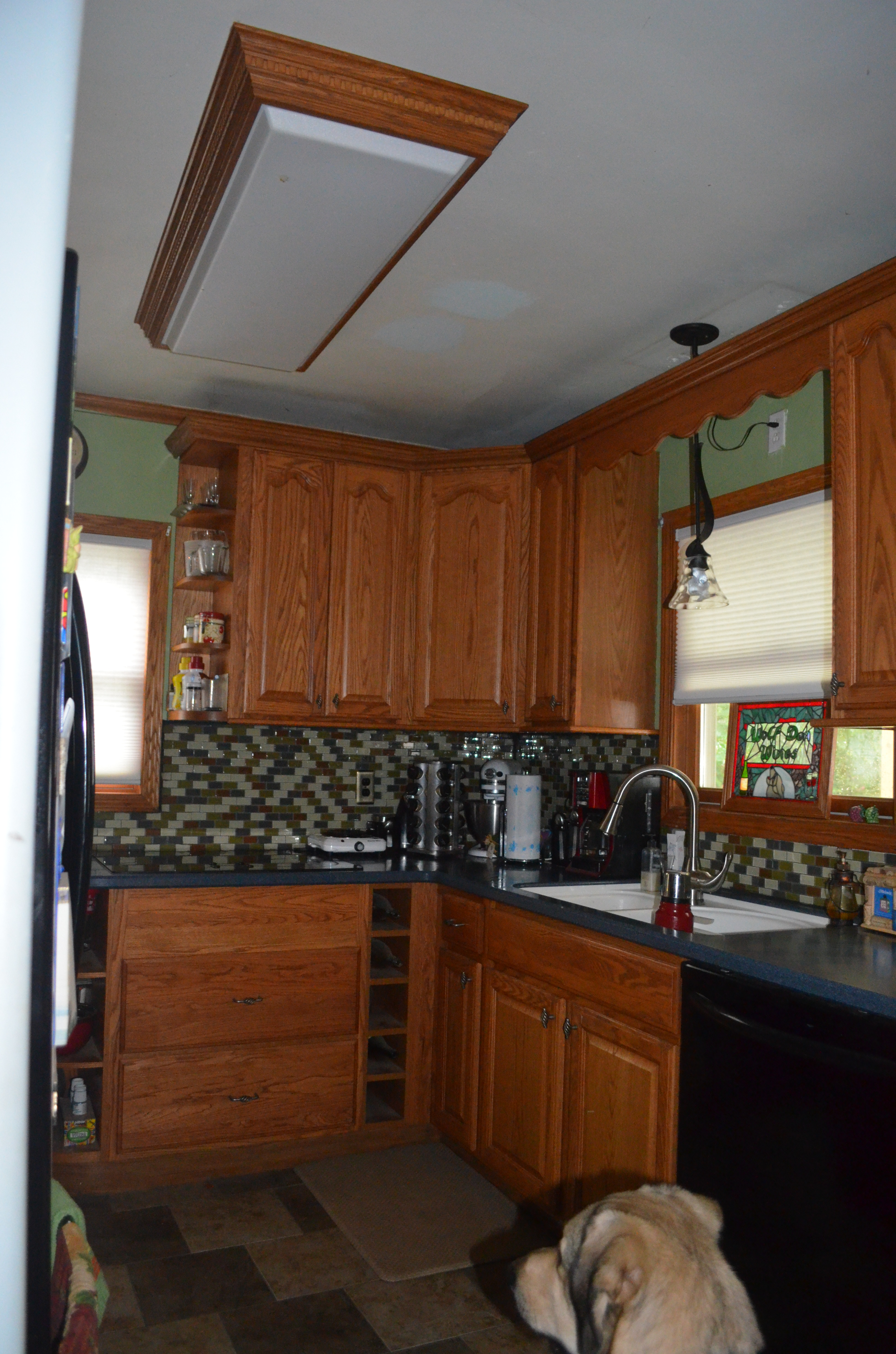 replacing the overhead florescent light in the kitchen kitchen fluorescent light covers DSC