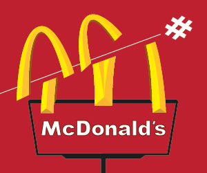McDonald's fails miserly during their short-lived Twitter promotion.