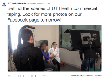 Behind the scenes of the new UT Health commercial