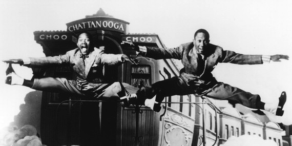 "Shall We Dance Friday: The Nicholas Brothers in ""Jumpin Jive"" from Stormy Weather"