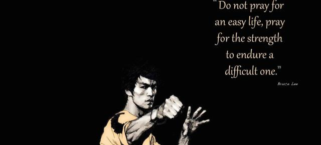 4/14/15 O&A Inspirational Tuesday: Bruce Lee- Be Like Water