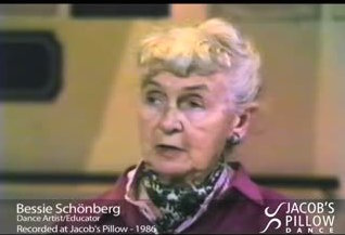 7/24/15 0&A Shall We Dance Friday: Bessie Schönberg- How to Look at Dance