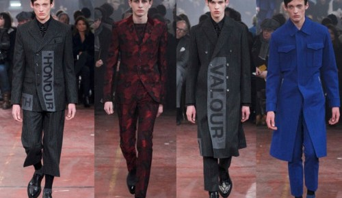 9/5/15 O&A Its Saturday- Anything Goes: Alexander McQueen Fall Winter 2015/2016 Menswear Fashion Show