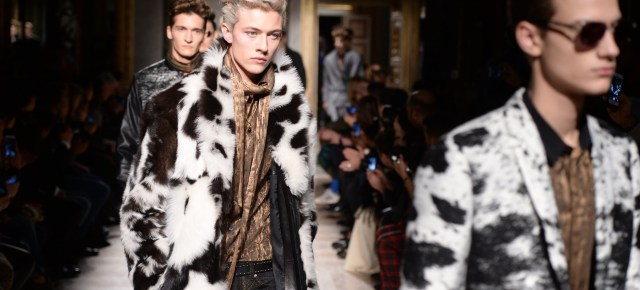 10/31/15 O&A NYC Its Saturday- Anything Goes: Roberto Cavalli Fall/Winter Menswear 2015/16