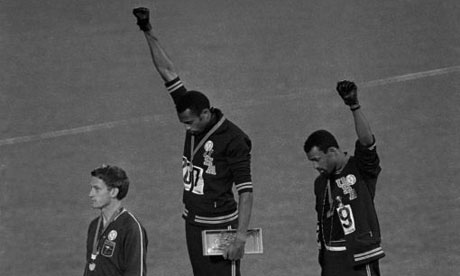 11/3/15 O&A NYC Inspirational Tuesday : Tommie Smith and John Carlos Medal Ceremony 1968 Summer Olympics