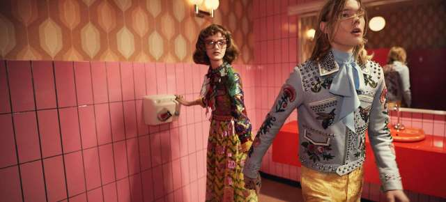 1/23/16 O&A NYC Its Saturday- Anything Goes: Gucci Spring Summer 2016 Collection And Ad Campaign