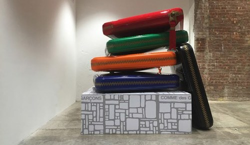 1/5/15 O&A NYC With WaleStylez- Fashion: Giant COMME des GARÇONS Wallets Are on Display at Dover Street Market New York