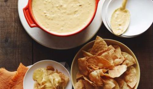 2/4/16 O&A NYC FOOD FOR YOUR SUPER BOWL PARTY: Green Chile Queso