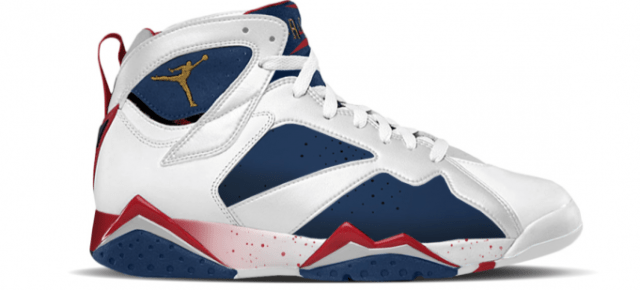 4/23/16 O&A NYC WITH WaleStylez FASHION: The 1992 Air Jordan 7 Olympic Was Tinker Hatfield's Alternate Design