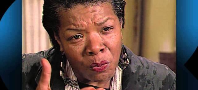 4/19/16 O&A NYC INSPIRATIONAL TUESDAY: Facing Evil With Maya Angelou