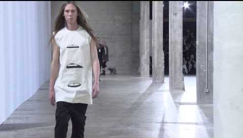 5/21/16 O&A NYC IT'S SATURDAY- ANYTHING GOES: Cyclops- Rick Owens SS16 Menswear Show