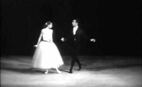 5/6/16 O&A NYC SHALL WE DANCE FRIDAY: La Valse (1951) Featuring Tanaquil LeClercq and Nicholas Magallanes