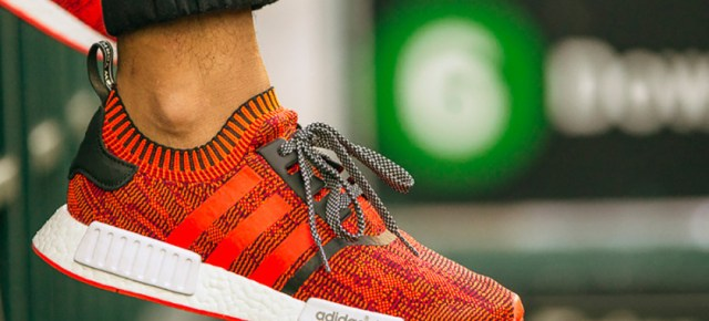 8/15/16 O&A NYC WITH WaleStylez Fashion: ADIDAS Announces New NYC Flagship With Adidas NMD Red Apple
