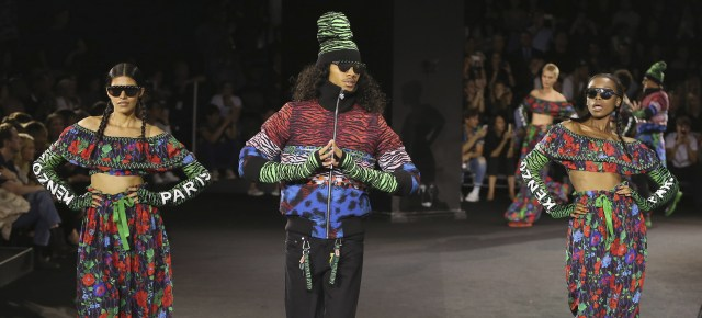10/22/16 O&A NYC ITS SATURDAY: Jean-Paul Goude Directs Kenzo And H&M Fashion Show Celebration