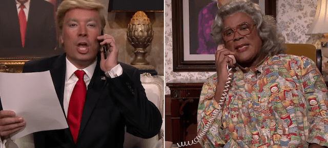 10/10/16 O&A NYC THE RACE TO THE WHITE HOUSE: Donald Trump Calls Madea