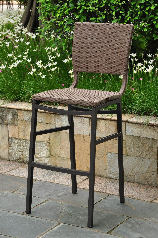 Splendent Barcelona Resin Wicker Outdoor Bar Height Chairs Reviewing Outdoor Bar Stools Outdoor Bar Outdoor Bar Stools Big Lots Outdoor Bar Stools Target houzz-03 Outdoor Bar Stools