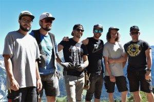 Baucrew - Nine Knights Premiere am Reschenpass
