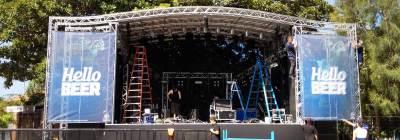 Trailer-Stage-Setup