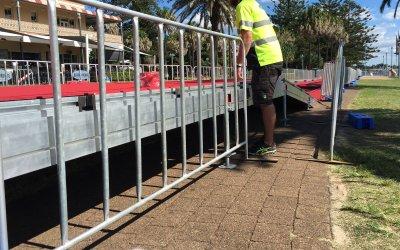 Scaffold Finish Ramp
