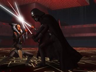 Ahsoka Vs. Vader in Star Wars: Rebels Season 2 Finale