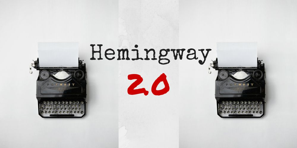 Hemingway 2.0 - 3 outils pour écrire en 2015