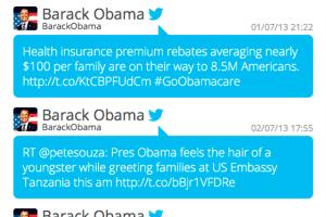 Timeline twitter