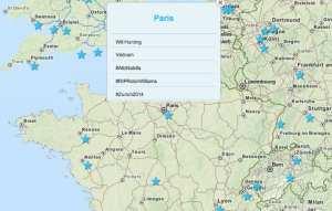 carte tendances Twitter