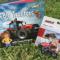 Casey & Friends Book Series Offers a Glimpse Into Farm Life - Big Tractors Book Just Released + Book & CASE IH Toy Tractor Giveaway