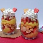 Strawberry & Banana Cream Trifle