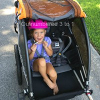 The Burley D'Lite is the Top-of-the-Line Bike Trailer For Kids