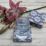 DIY Fabric Coasters Tutorial